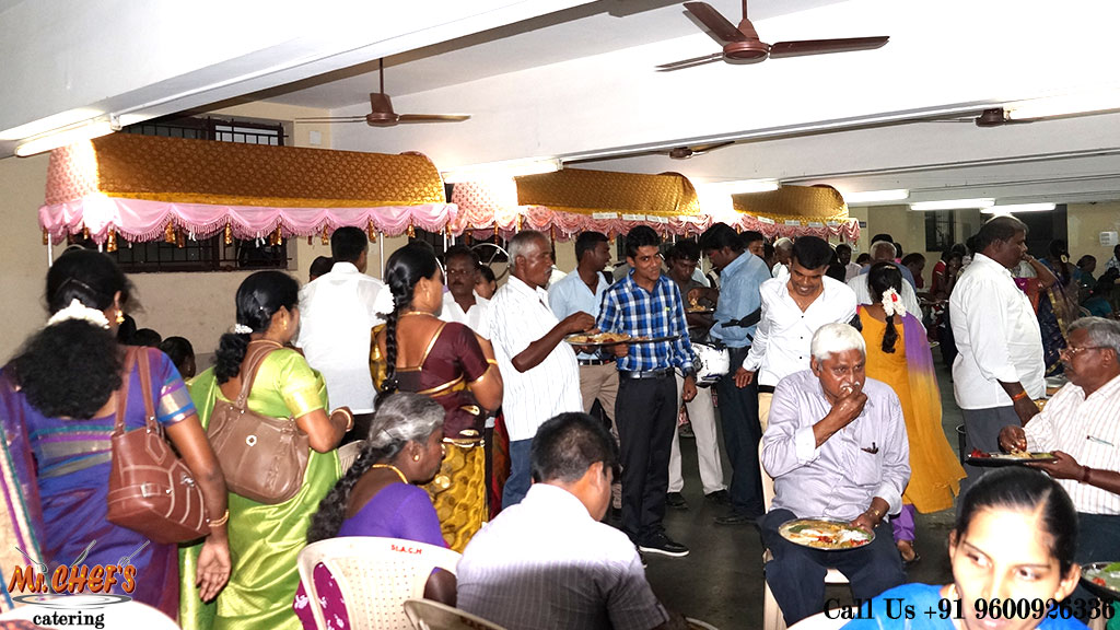 best wedding catering services in coimbatore kuniyamuthur