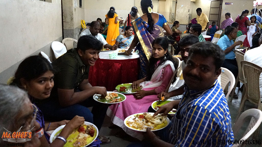 wedding catering services in coimbatore kuniyamuthur