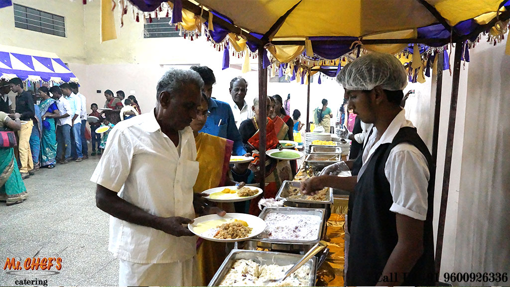 best marriage catering services coimbatore ondipudur