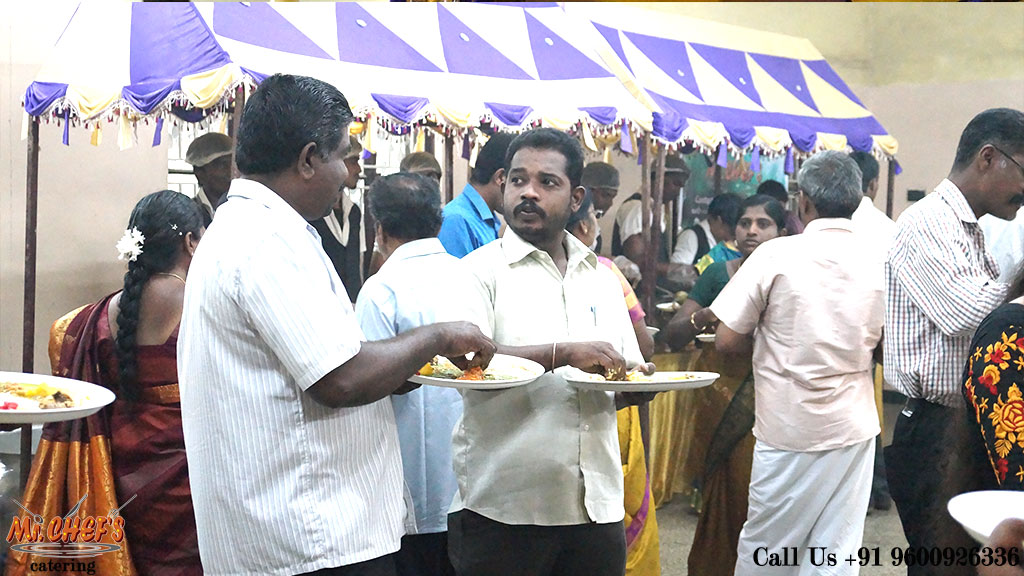 best wedding catering services in coimbatore ondipudur