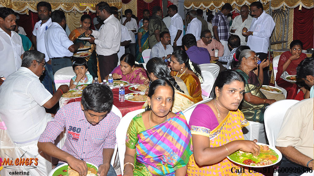 best marriage catering services coimbatore peelamedu