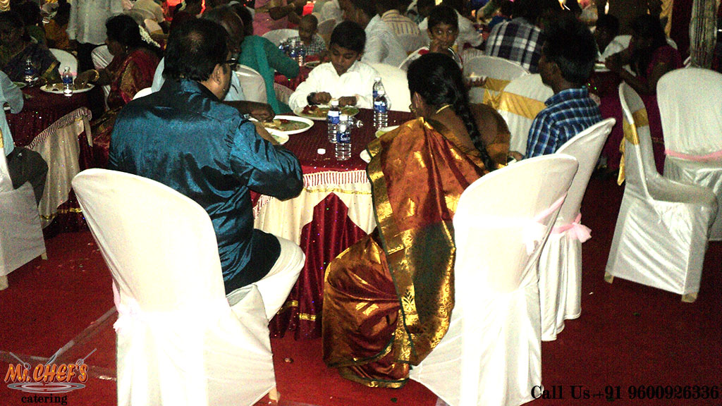 best wedding catering services in coimbatore peelamedu