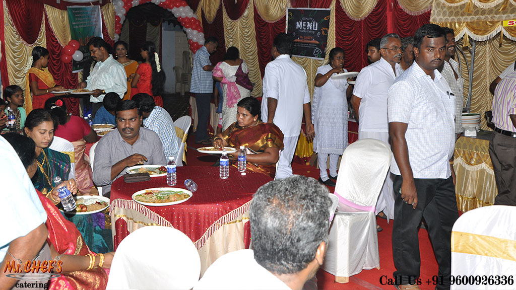 outdoor catering services in coimbatore peelamedu