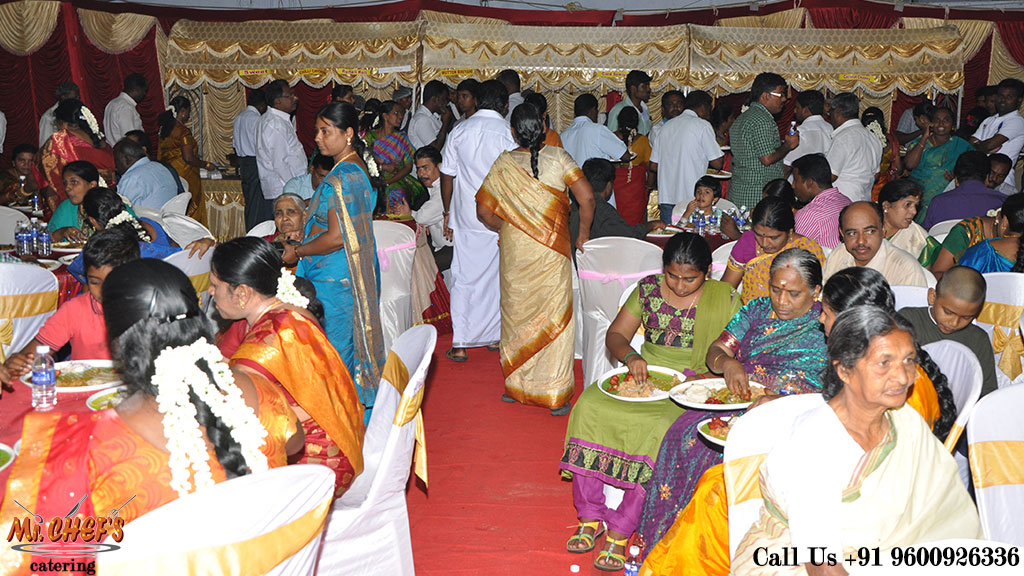 wedding catering services in coimbatore peelamedu
