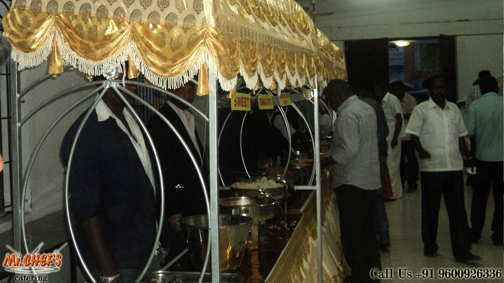 best wedding catering services in coimbatore rspuram