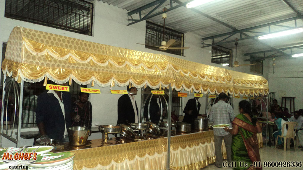 wedding catering services in coimbatore rspuram